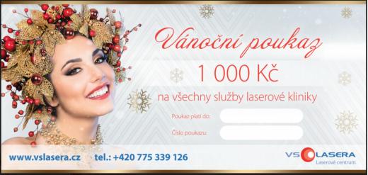 Zvýhodněné vánoční poukazy - darujte krásu